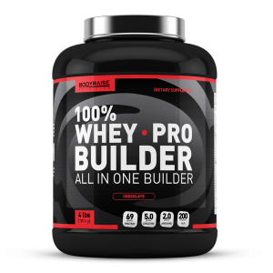 100% Whey Pro Builder 4lbs (1814g) Flavor: Choklad