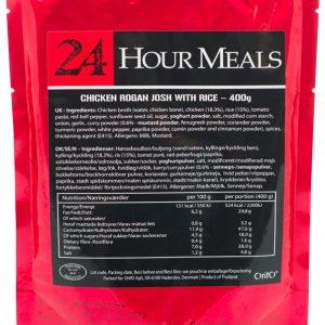 24 Hour Meals Chicken Rogan Josh Med Ris