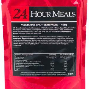 24 Hour Meals Vegetarian Spicy Bean Pasta