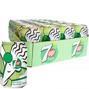7up Free 24-pack - 32% rabatt