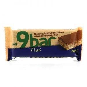 9 Bar flax 50g glutenfri vetefri