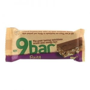 9 Bar fruit 50g glutenfri vetefri