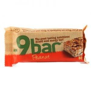 9 Bar jordnötter 50g glutenfri vetefri