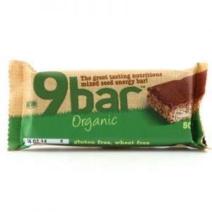 9 Bar organic 50g glutenfri vetefri