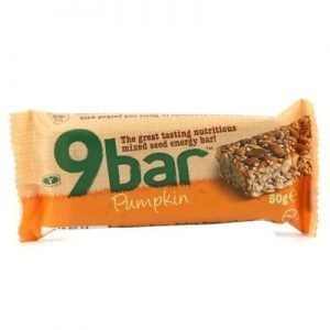 9 Bar pumpa 50g glutenfri vetefri