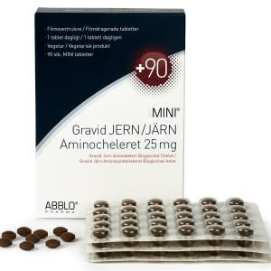 ABBLO Gravid Järn 90 tabletter