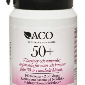 ACO 50+, tablett 100 st