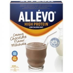 Allevo high protein pulver chocolate milkshake 10p LCD