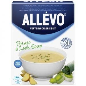 Allevo kick start soup potatis purjo 14p VLCD