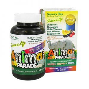 Animal Parade Multivitamin Barn 180 tabletter