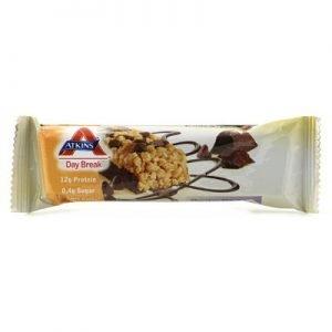 Atkins Day break bar chocolate chip crisp 37g