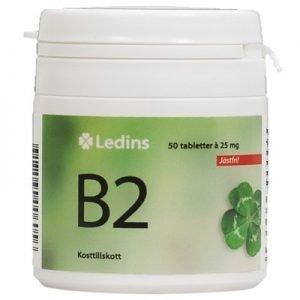 B-2 vitamin 25mg 50 tabletter