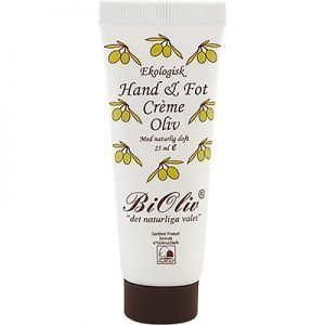 BiOliv Hand & Fot Crème Oliv 25ml