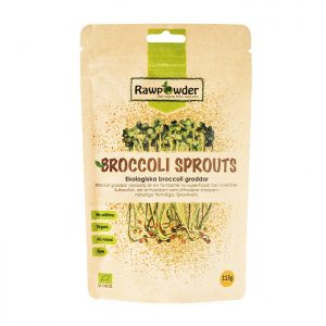 Broccoligroddar Pulver Sprouted 115g EKO