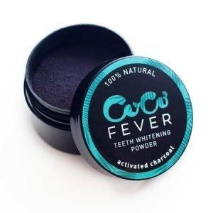 COCO FEVER Whitening Powder - Aktiverat kol för vitare tänder