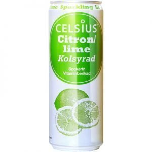 Celsius Citron/Lime Kolsyrad 355ml