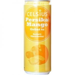 Celsius Persika/Mango Kolsyrad 355ml