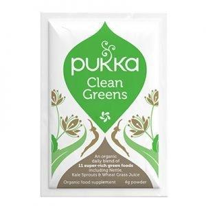 Clean Greens Pulver Portionspåsar 4g
