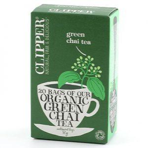 Clipper Green chai 20p EKO Fairtr