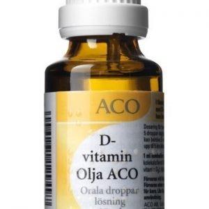 D-vitamin Olja ACO, orala droppar, lösning 80 IE/droppe 25 ml