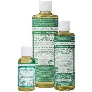 Dr Bronner's magic liquid soap almond 473ml EKO flytande