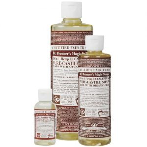Dr Bronner's magic liquid soap eucalyptus 59ml EKO flytande