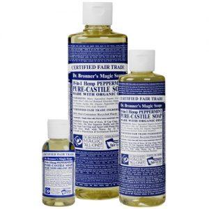 Dr Bronner's magic liquid soap peppermint 473ml EKO flytande