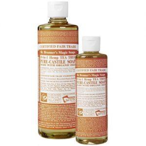 Dr Bronner's magic liquid soap tea tree 473ml EKO flytande