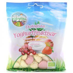 Eco Vital yoghurtfruktisar 90g EKO