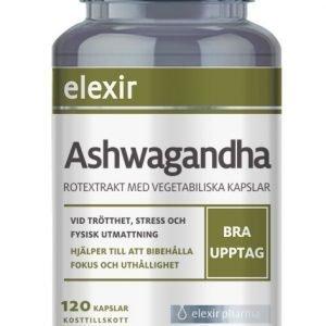 Elexir Pharma Ashwagandha 120 kapslar