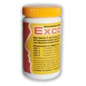 Excoldit 200 mg 72 tabletter