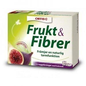 Frukt & Fibrer 12 Tärningar