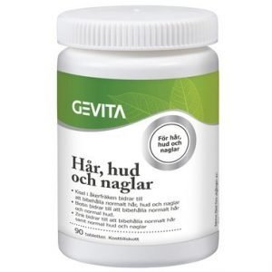 Gevita Hår Hud & Naglar 90 tabletter