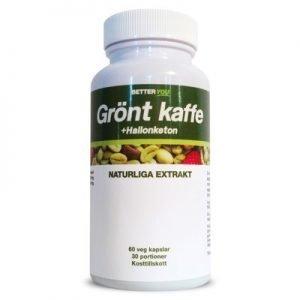 Grönt Kaffe + Hallonketon 60 kapslar