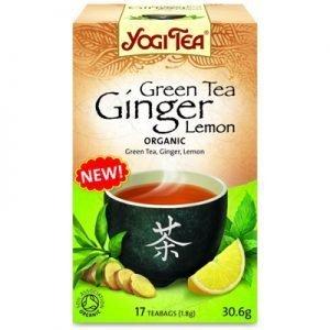 Green Tea Ginger Lemon 17p KRAV EKO