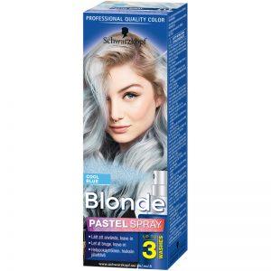 Hårfärg Blonde Pastel Spray Blue - 75% rabatt