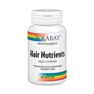Hair Nutrients 60 kapslar veg