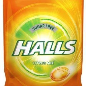 Halls Citrus Mix halstablett