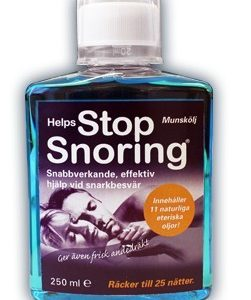 Helps Stop Snoring munskölj 250 ml