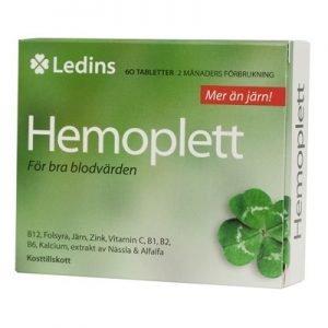 Hemoplett 60 tabletter