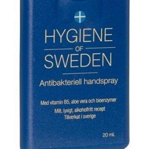 Hygiene of Sweden, Antibakteriell Handrengöring, spray 20 ml - Bioprodukt