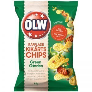 Kikärtschips Green Garden - 23% rabatt