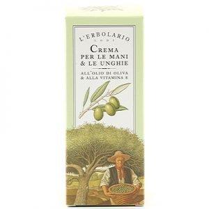 L'Erbolario hand & nagelcreme olivolja vitamin E 75ml