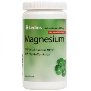 Magnesium 250mg 100st