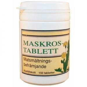 Maskrostablett 150 st