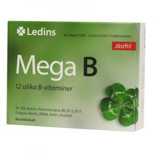 Mega-B 60 tabletter