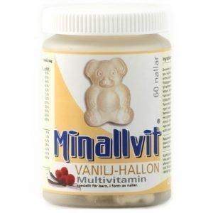 Minallvit Multivitamin Vanilj-Hallon 60t