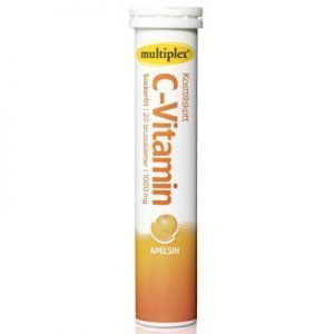 Multiplex C-vitamin apelsin brus 20st