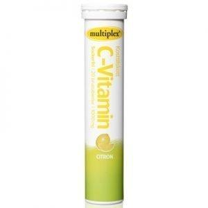 Multiplex C-vitamin citron brus 20st