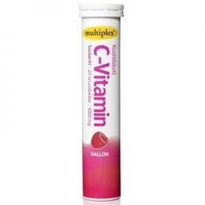 Multiplex C-vitamin hallon brus 20st